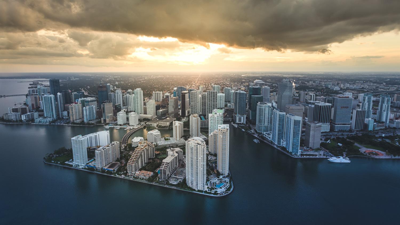 USA Florida Miami Aerial